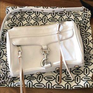 Rebecca Minkoff mini Mac in white leather
